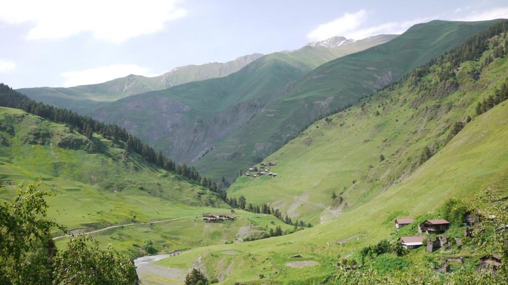 Jvarboseli Alisgori and Verkhovani in Gometsari Valley Tusheti