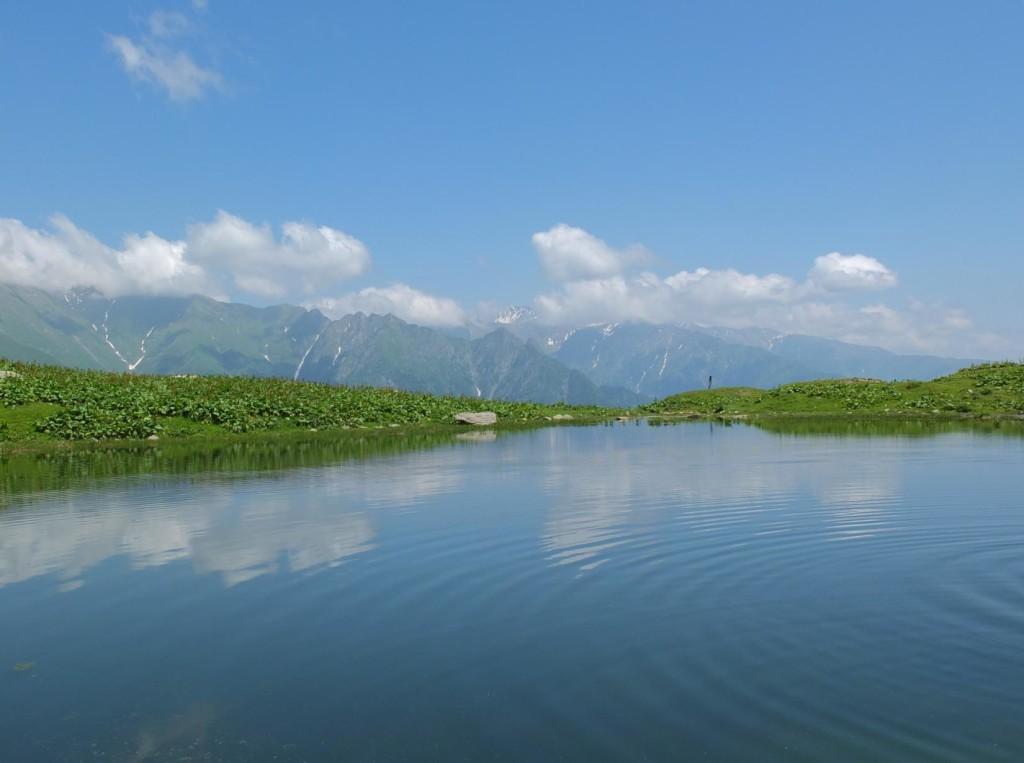 Lake of Tbatana mountain