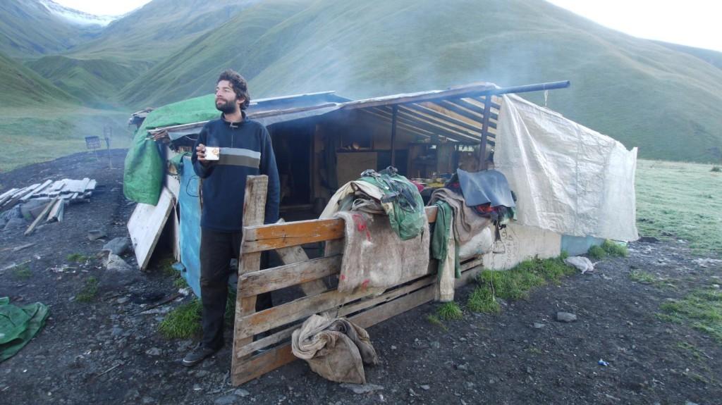 Shepherds hut in Gometsari Valley