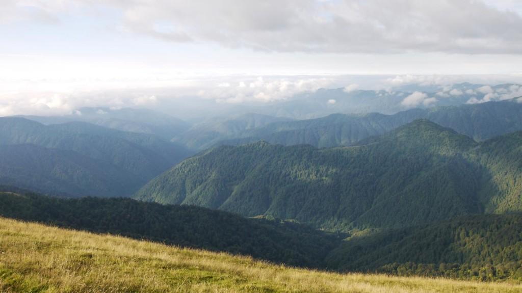 Tbatana mountain looking towards Khevsureti