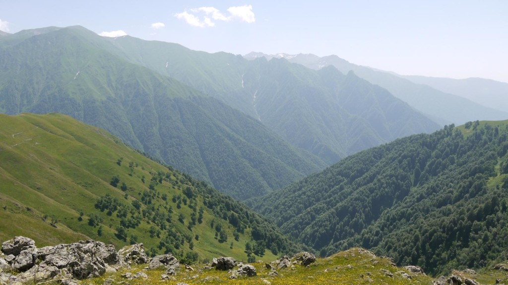 View from Tbatana mountain