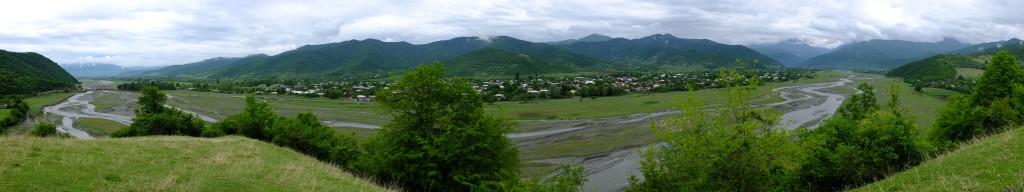 Pankisi Valley Panorama