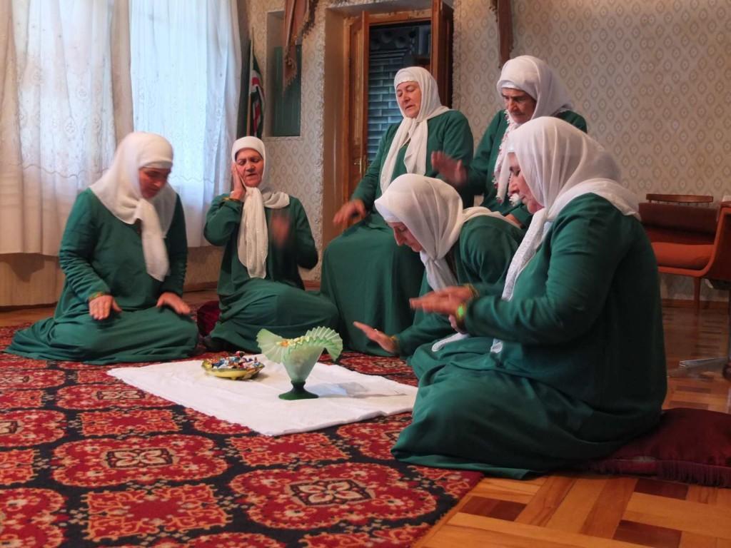 Pankisi Kist women's Sufi Zikr in Duisi
