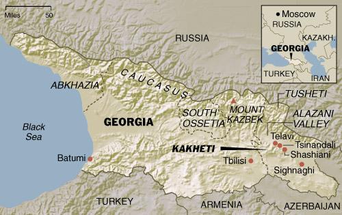 kakheti Map3